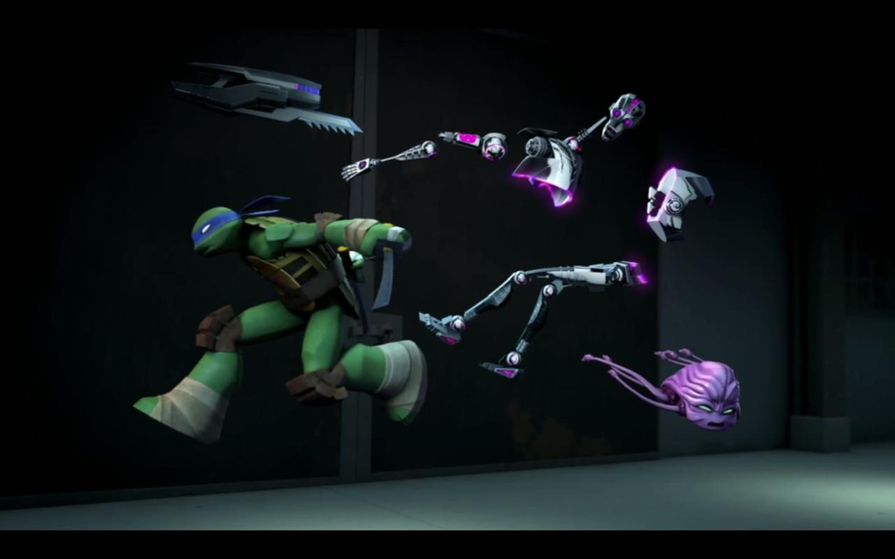 The action scenes are carefully drawn out and well choreographed into the animation.
