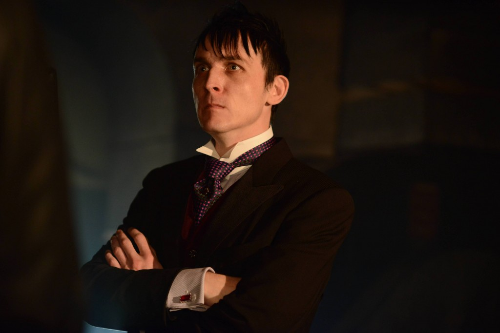 GOTHAM: L-R: Robin Lord Taylor in the ÒRise of the Villains: Mommy's Little MonsterÓ episode of GOTHAM airing Monday, Nov. 2 (8:00-9:00 PM ET/PT) on FOX. ©2015 Fox Broadcasting Co. Cr: FOX.