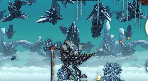 Giant robots with guns, the only way to travel.