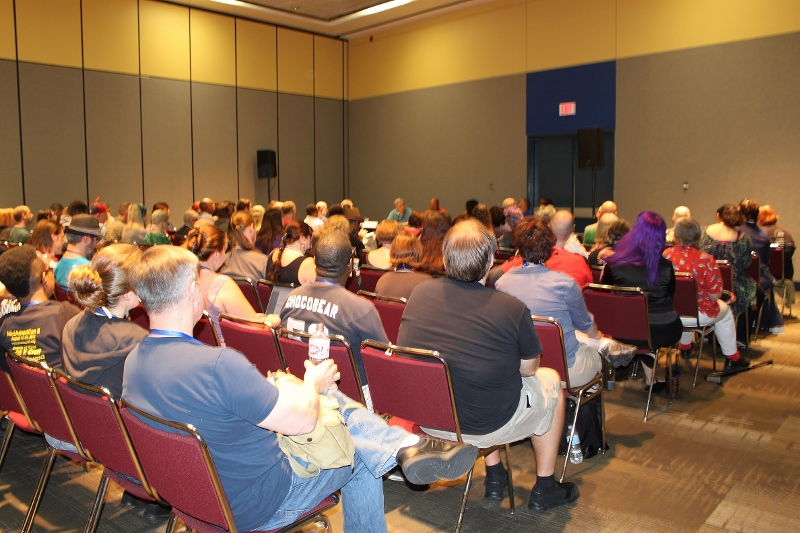 The room was packed for this panel. Photo by Teresa Wickersham