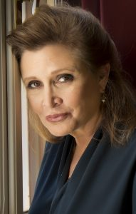 Actress Carrie Fisher in 2013